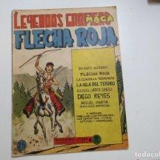 Tebeos: LEYENDAS GRAFICAS FLECHA ROJA Nº 25 MAGA. Lote 181806868