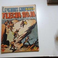 Tebeos: LEYENDAS GRAFICAS FLECA ROJA Nº 41 MAGA. Lote 181807252