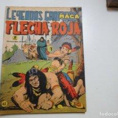 Tebeos: LEYENDAS GRAFICAS FLECHA ROJA Nº 43 MAGA. Lote 181807368