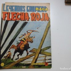 Tebeos: LEYENDAS GRAFICAS FLECHA ROJA Nº 40 MAGA. Lote 181807487