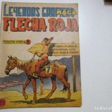 Tebeos: LEYENDAS GRAFICAS FLECHA ROJA Nº 35 MAGA. Lote 181807621