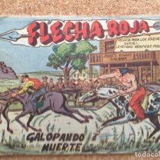 Tebeos: FLECHA ROJA Nº 15 - MAGA, ORIGINAL - GCH. Lote 181881873