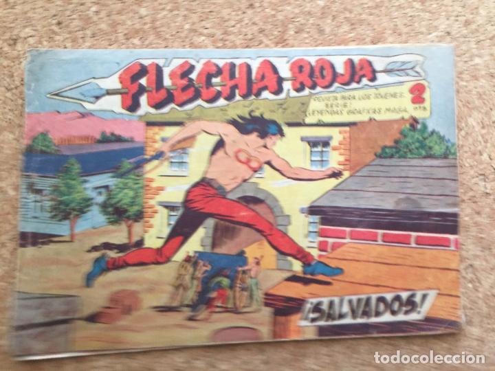 FLECHA ROJA Nº 33 - MAGA, ORIGINAL - GCH (Tebeos y Comics - Maga - Flecha Roja)