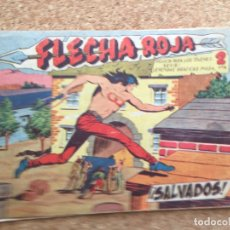 Giornalini: FLECHA ROJA Nº 33 - MAGA, ORIGINAL - GCH. Lote 181882427