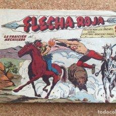 BDs: FLECHA ROJA Nº 41 - MAGA, ORIGINAL - GCH. Lote 181882866
