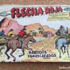 BDs: FLECHA ROJA Nº 52 - MAGA, ORIGINAL - GCH. Lote 181882946