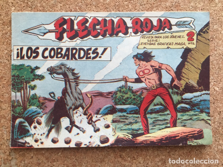 FLECHA ROJA Nº 55 - MAGA, ORIGINAL - GCH (Tebeos y Comics - Maga - Flecha Roja)