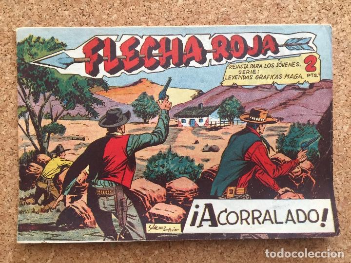 FLECHA ROJA Nº 54 - MAGA, ORIGINAL - GCH (Tebeos y Comics - Maga - Flecha Roja)