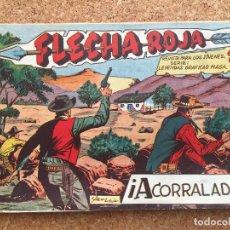 BDs: FLECHA ROJA Nº 54 - MAGA, ORIGINAL - GCH. Lote 181883353