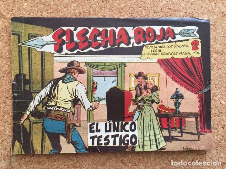FLECHA ROJA Nº 53 - MAGA, ORIGINAL - GCH (Tebeos y Comics - Maga - Flecha Roja)