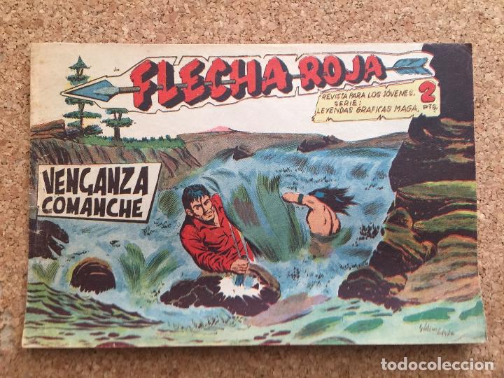 FLECHA ROJA Nº 56 - MAGA, ORIGINAL - GCH (Tebeos y Comics - Maga - Flecha Roja)