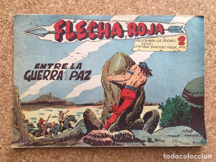 FLECHA ROJA Nº 57 - MAGA, ORIGINAL - GCH (Tebeos y Comics - Maga - Flecha Roja)