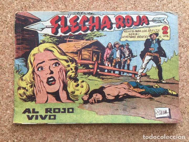 FLECHA ROJA Nº 66 - MAGA, ORIGINAL - GCH (Tebeos y Comics - Maga - Flecha Roja)
