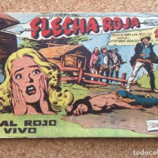 BDs: FLECHA ROJA Nº 66 - MAGA, ORIGINAL - GCH. Lote 181884035