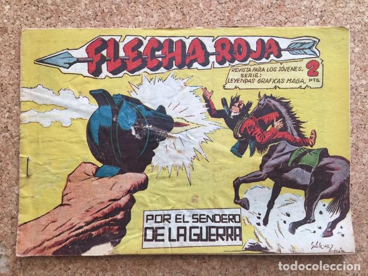 FLECHA ROJA Nº 60 - MAGA, ORIGINAL - GCH (Tebeos y Comics - Maga - Flecha Roja)