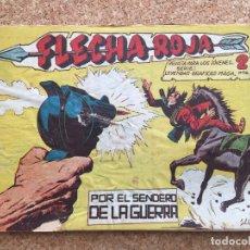 BDs: FLECHA ROJA Nº 60 - MAGA, ORIGINAL - GCH. Lote 181884090
