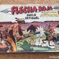 BDs: FLECHA ROJA Nº 62 - MAGA, ORIGINAL - GCH. Lote 181884246