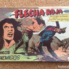 BDs: FLECHA ROJA Nº 64 - MAGA, ORIGINAL - GCH. Lote 181884355