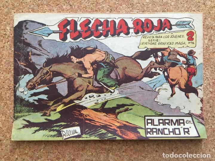 FLECHA ROJA Nº 65 - MAGA, ORIGINAL - GCH (Tebeos y Comics - Maga - Flecha Roja)