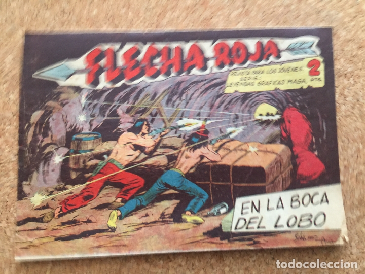 FLECHA ROJA Nº 69 - MAGA, ORIGINAL - GCH (Tebeos y Comics - Maga - Flecha Roja)