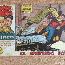 Tebeos: TONY Y ANITA, Nº 10 - MAGA, ORIGINAL - GCH. Lote 181889626