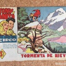 Tebeos: TONY Y ANITA, Nº 14 - MAGA, ORIGINAL - GCH. Lote 181889947