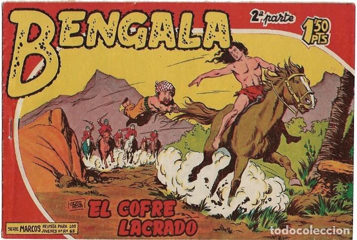 BENGALA 2ª Nº 2, ORIGINAL, MAGA BUEN ESTADO - VER (Tebeos y Comics - Maga - Bengala)