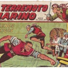 Tebeos: EL TERREMOTO MARINO Nº 13, ORIGINAL, MAGA BUEN ESTADO - VER. Lote 181944510