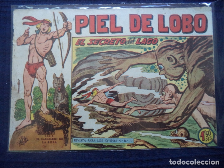 PIEL DE LOBO ORIGINAL Nº 59 (Tebeos y Comics - Maga - Rayo de la Selva)