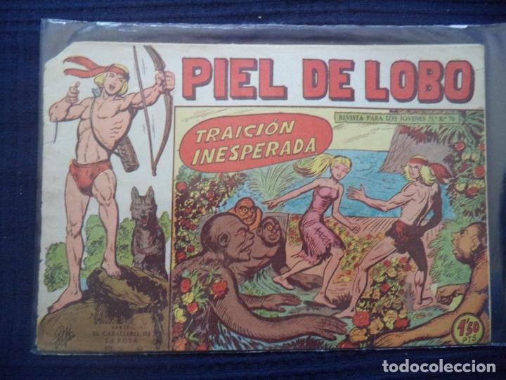 PÌEL DE LOBO ORIGINAL Nº 61 (Tebeos y Comics - Maga - Piel de Lobo)