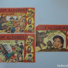 Tebeos: COMIC - LOTE DE 3 - JIM ALEGRIAS, SERIE EL GAVILAN Nº 30, 32, 50 - EDITORIAL MAGA - 1960 ... L420. Lote 181997948