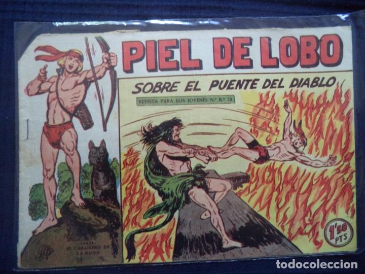 PIEL DE LOBO ORIGINAL Nº 64 (Tebeos y Comics - Maga - Piel de Lobo)
