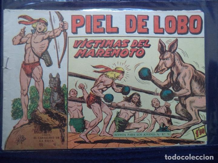 PIEL DE LOBO ORIGINAL Nº 67 (Tebeos y Comics - Maga - Piel de Lobo)