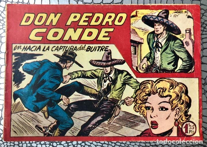 DON PEDRO CONDE Nº 7 (ORIGINAL). MAGA 1956. MANUEL GAGO. DIFICIL Y ESCASO (Tebeos y Comics - Maga - Otros)