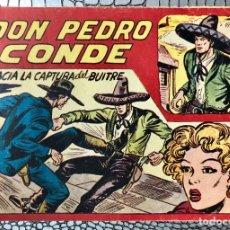 Tebeos: DON PEDRO CONDE Nº 7 (ORIGINAL). MAGA 1956. MANUEL GAGO. DIFICIL Y ESCASO. Lote 182132870