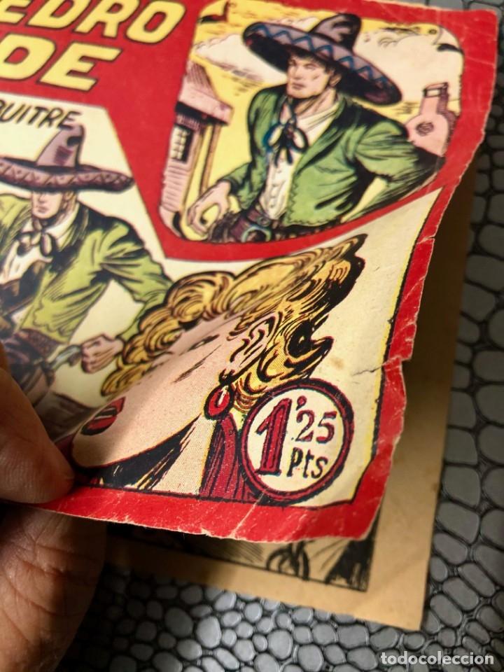 Tebeos: DON PEDRO CONDE Nº 7 (ORIGINAL). MAGA 1956. MANUEL GAGO. DIFICIL Y ESCASO - Foto 2 - 182132870