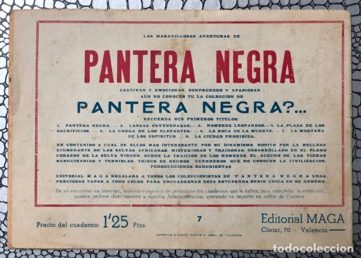Tebeos: DON PEDRO CONDE Nº 7 (ORIGINAL). MAGA 1956. MANUEL GAGO. DIFICIL Y ESCASO - Foto 4 - 182132870