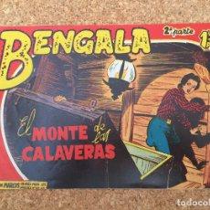 Tebeos: BENGALA SEGUNDA PARTE Nº 14 - MAGA, ORIGINAL - GCH. Lote 182151841