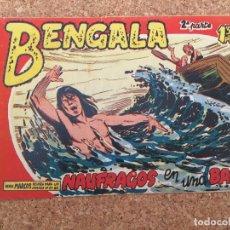 Tebeos: BENGALA SEGUNDA PARTE Nº 21 - MAGA, ORIGINAL - GCH. Lote 182151887