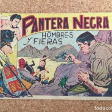 Tebeos: PANTERA NEGRA Nº 13 - MAGA, ORIGINAL - GCH. Lote 182153447