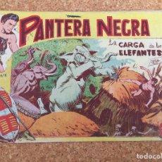 Tebeos: PANTERA NEGRA Nº 5 - MAGA, ORIGINAL - GCH. Lote 182153560