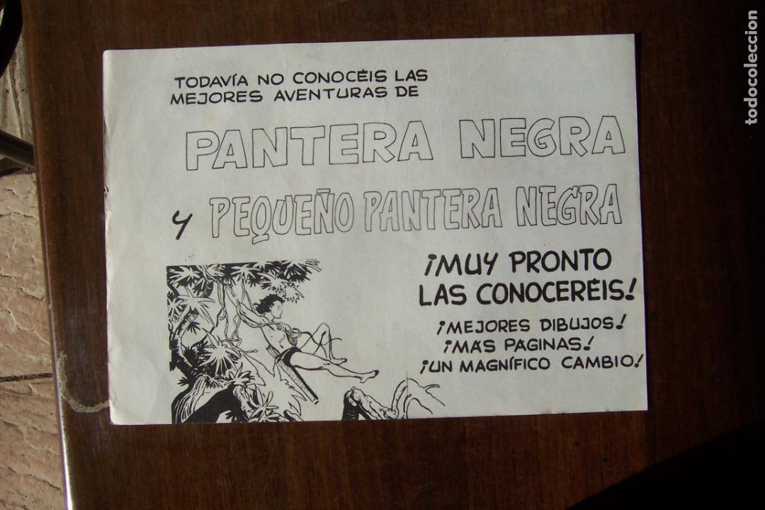 Tebeos: maga. pantera negra la - la columna vertebral de una editorial-lote 440 ejemplares - Foto 27 - 35228471
