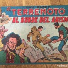 Giornalini: DAN BARRY EL TERREMOTO - NUMERO 2 - MAGA, ORIGINAL - GCH. Lote 183993626