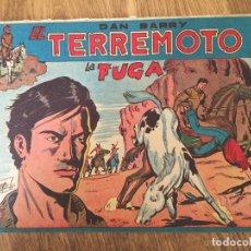 Giornalini: DAN BARRY EL TERREMOTO - NUMERO 5 - MAGA, ORIGINAL - GCH. Lote 183994230