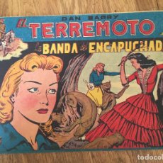 Giornalini: DAN BARRY EL TERREMOTO - NUMERO 6 - MAGA, ORIGINAL - GCH. Lote 183994315