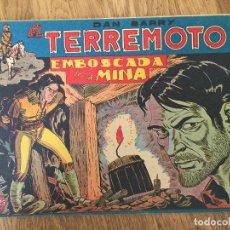 Giornalini: DAN BARRY EL TERREMOTO - NUMERO 7 - MAGA, ORIGINAL - GCH. Lote 183994571