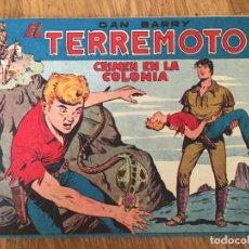 Giornalini: DAN BARRY EL TERREMOTO - NUMERO 8 - MAGA, ORIGINAL - GCH. Lote 183994686