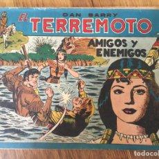 Giornalini: DAN BARRY EL TERREMOTO - NUMERO 73 - MAGA, ORIGINAL - GCH. Lote 183998228