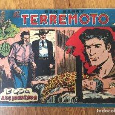Giornalini: DAN BARRY EL TERREMOTO - NUMERO 63 - MAGA, ORIGINAL - GCH. Lote 183998353