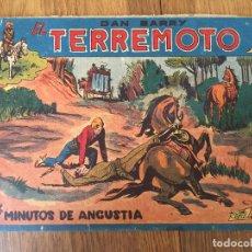 Giornalini: DAN BARRY EL TERREMOTO - NUMERO 49 - MAGA, ORIGINAL - GCH. Lote 183998858